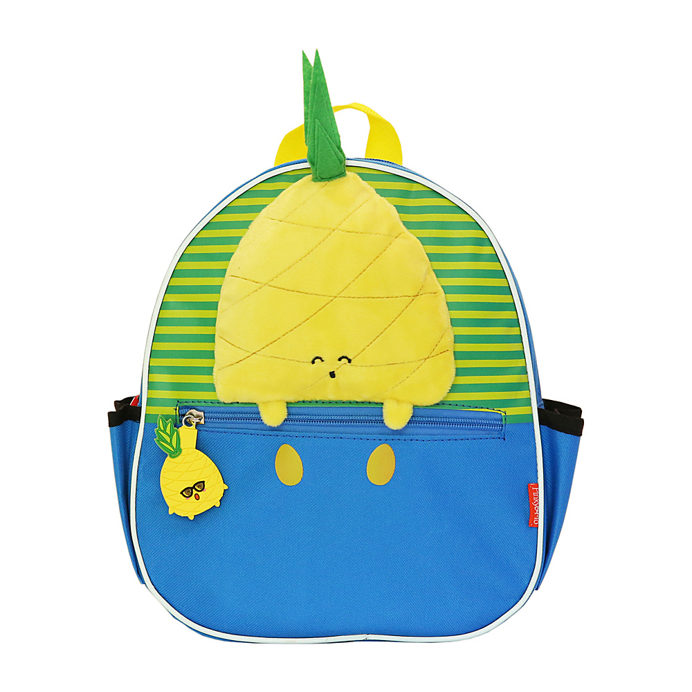 Pinky & Flo Safety Reflective Toddler Backpack Pineapple - Pinky & Flo Everyday Backpacks