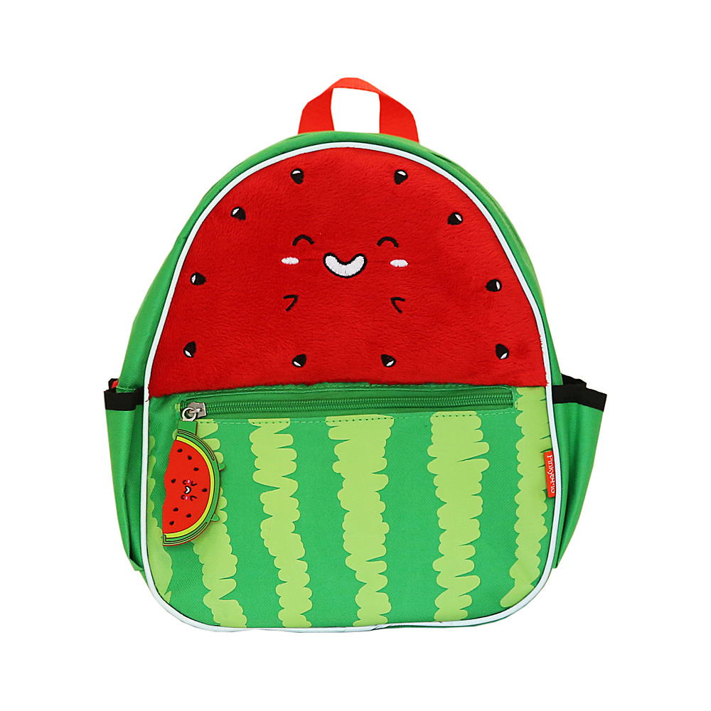 Pinky & Flo Safety Reflective Toddler Backpack Watermelon - Pinky & Flo Everyday Backpacks