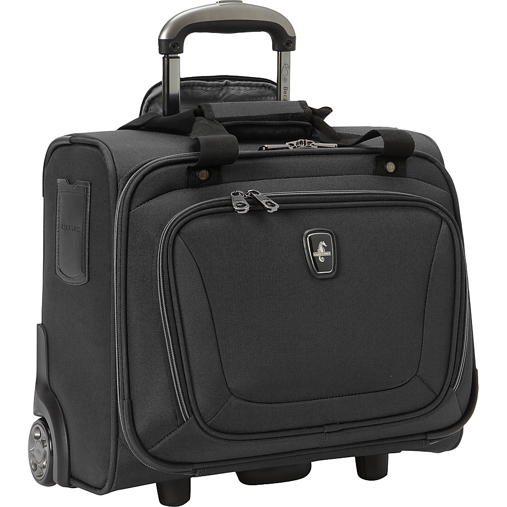 Atlantic Unite 2 Rolling Tote Black - Atlantic Softside Carry-On