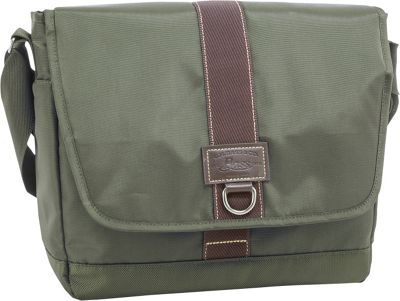GH Bass & CO Luggage McKinley Messenger Olive - GH Bass & CO Luggage Messenger Bags