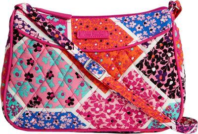 Vera Bradley Little Crossbody Modern Medley - Vera Bradley Fabric Handbags