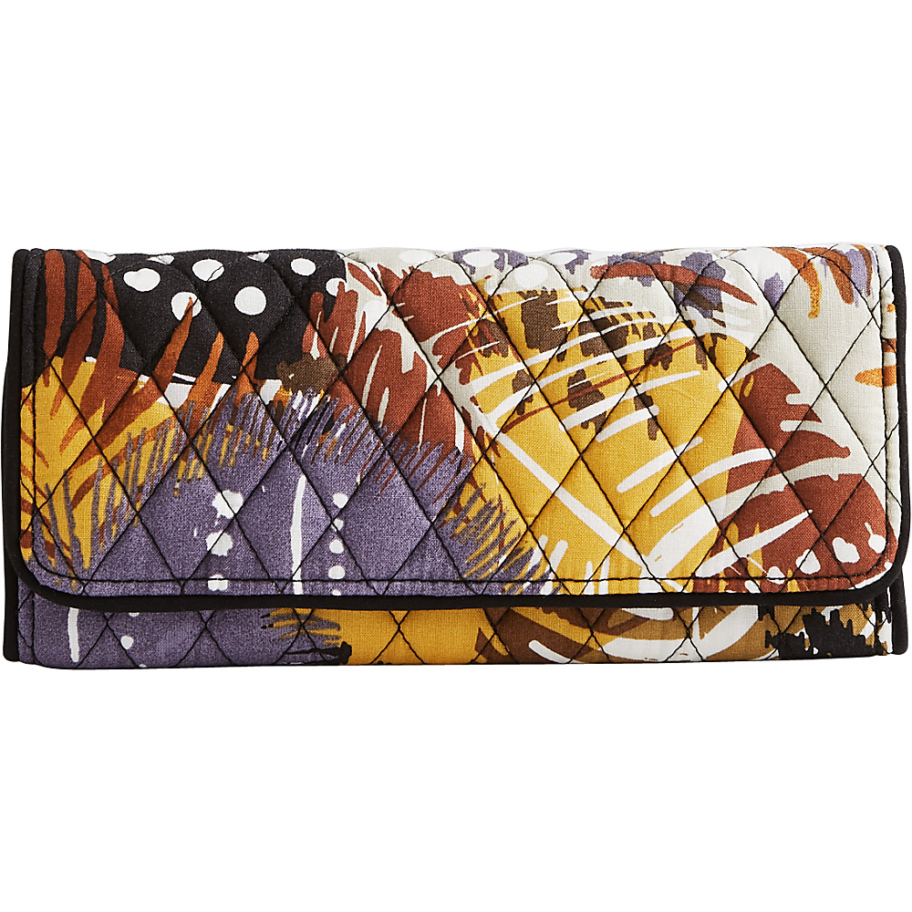 Vera Bradley Trifold Wallet Painted Feathers Vera Bradley Women s Wallets