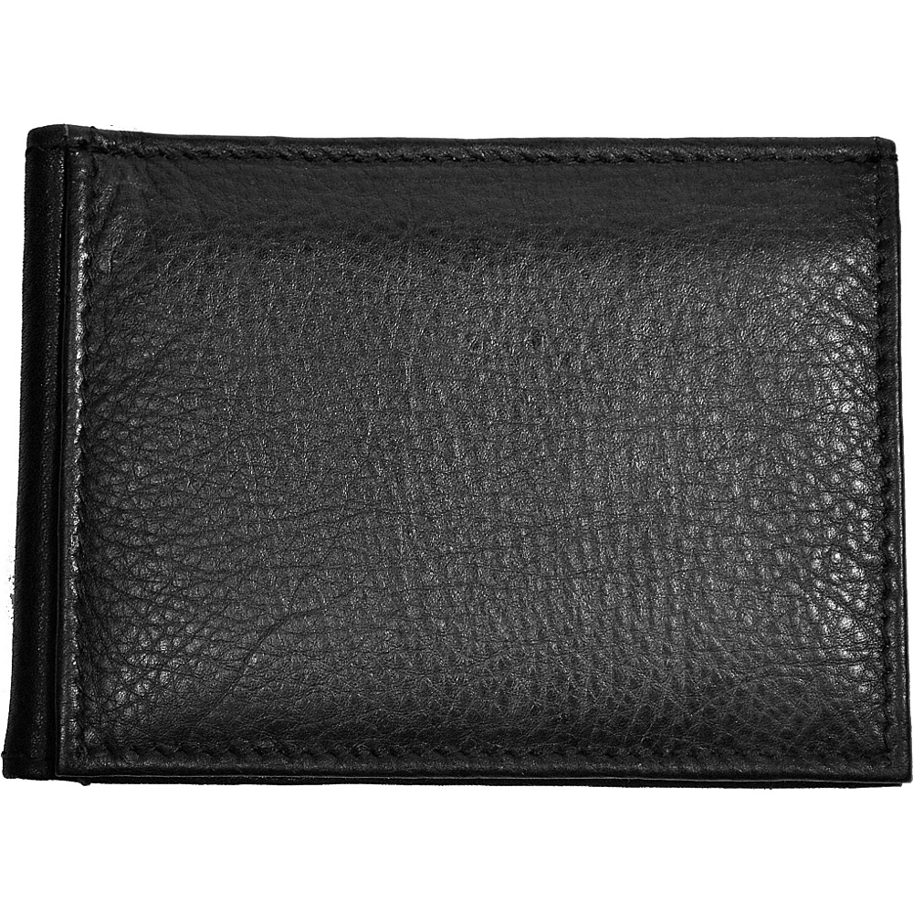 Budd Leather RFID Money Clip Black Budd Leather Men s Wallets