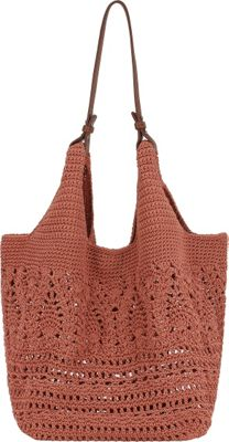 The Sak McClaren Tote Coral - The Sak Fabric Handbags