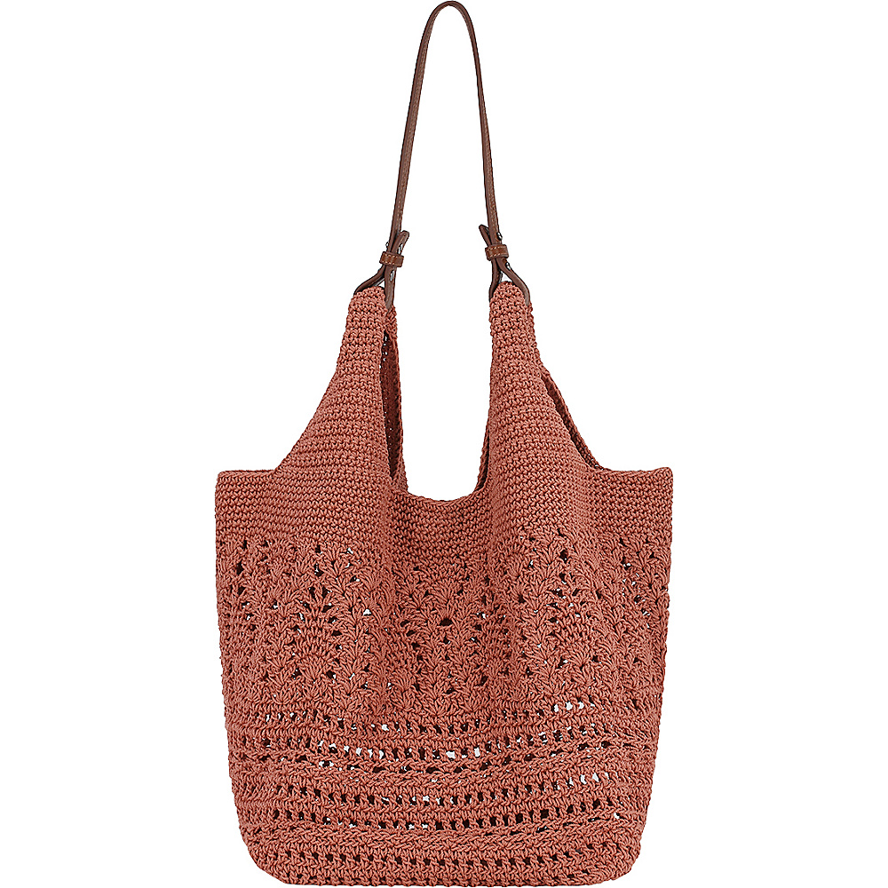 The Sak McClaren Tote Coral The Sak Fabric Handbags