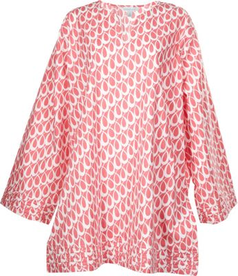 Needham Lane Plus Size Tunic XL - Lucy Coral - Needham Lane Women's Apparel