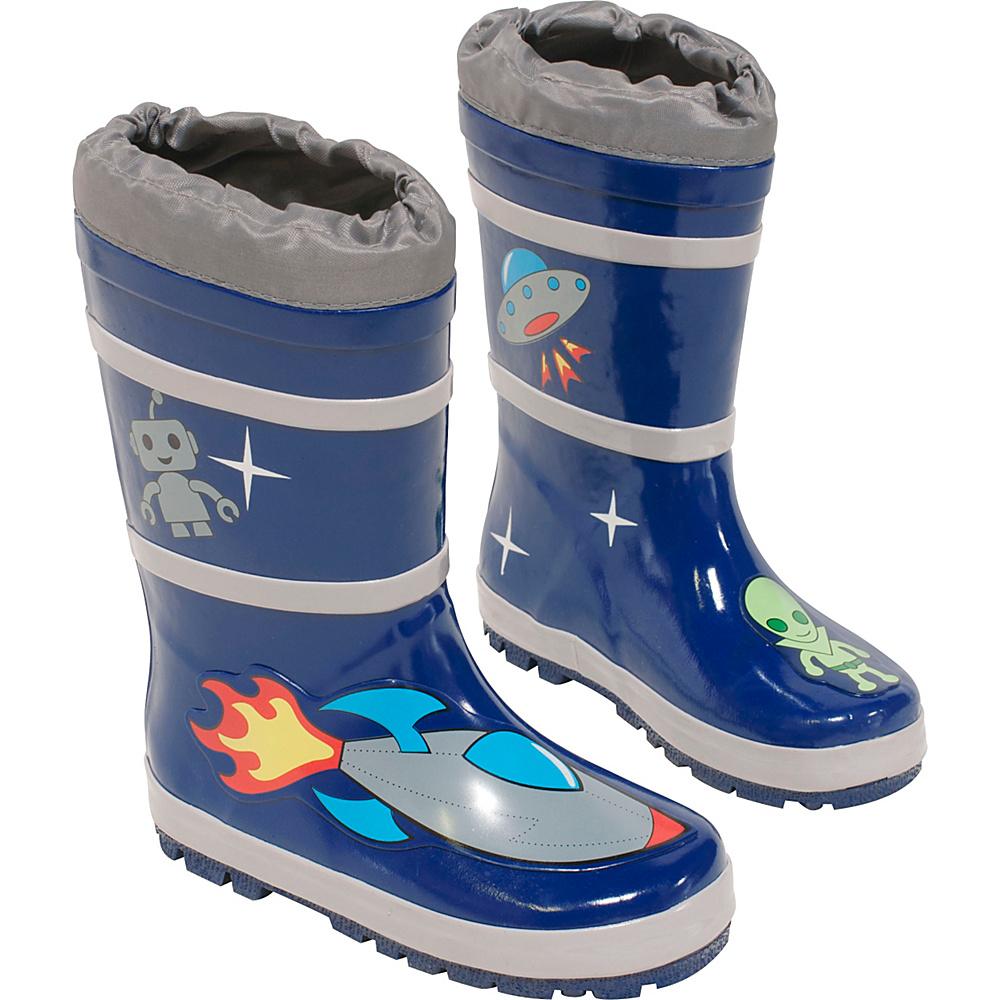 Kidorable Space Hero Rain Boots 10 (US Toddlers) - M (Regular/Medium) - Blue - Kidorable Mens Footwear - Apparel & Footwear, Men's Footwear