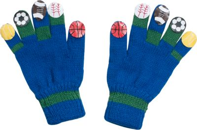 Kidorable Sport Knit Gloves S - Blue - Kidorable Hats/Gloves/Scarves