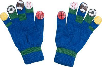 Kidorable Sport Knit Gloves L - Blue - Kidorable Hats/Gloves/Scarves
