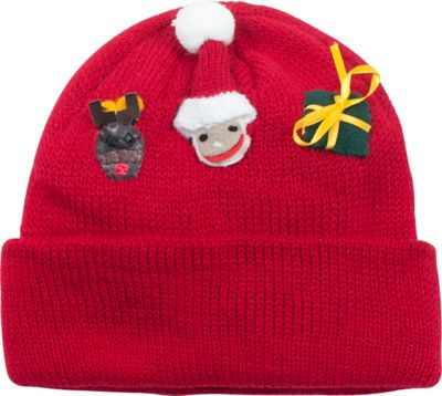 Kidorable Xmas Knit Hat One Size - Red - Kidorable Hats/Gloves/Scarves