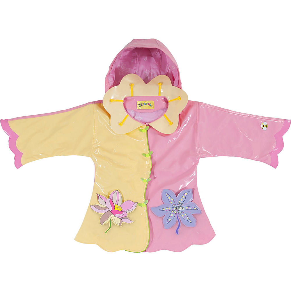 Kidorable Lotus All-Weather Raincoat 2T - Yellow - Kidorable Womens Apparel - Apparel & Footwear, Women's Apparel