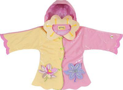 Kidorable Lotus All-Weather Raincoat 3T - Yellow - Kidora...