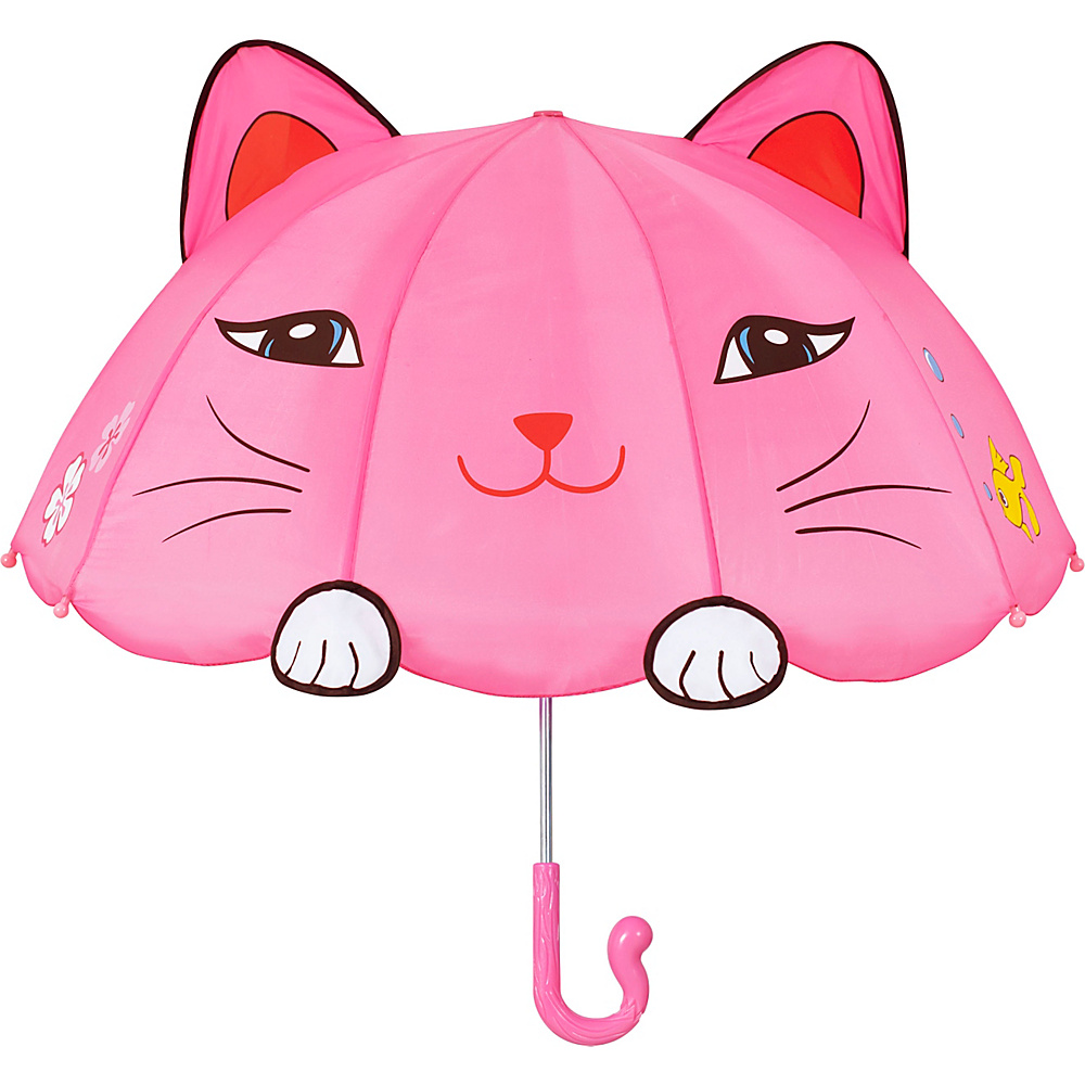 Kidorable Lucky Cat Umbrella Pink - One Size - Kidorable Umbrellas and Rain Gear - Fashion Accessories, Umbrellas and Rain Gear