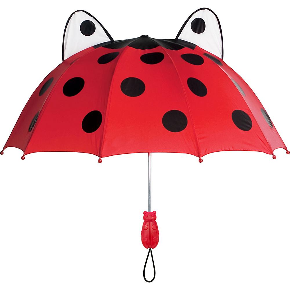 Kidorable Ladybug Umbrella Red - Kidorable Umbrellas and Rain Gear - Travel Accessories, Umbrellas and Rain Gear