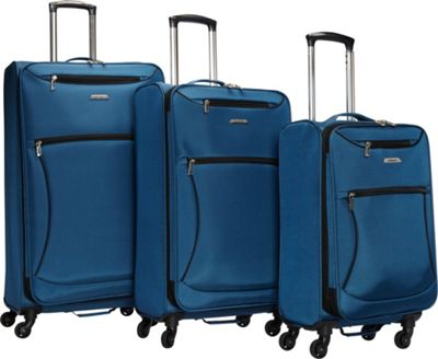 Leisure Luggage Vector 3 Piece Set Sapphire - Leisure Luggage Luggage Sets