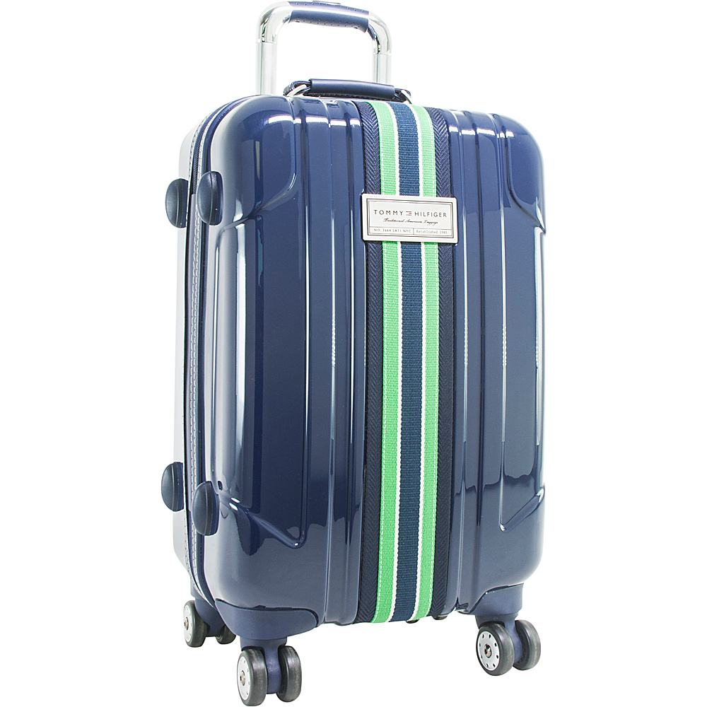 Tommy Hilfiger Luggage Santa Monica 28 Hardside Upright Spinner Navy Tommy Hilfiger Luggage Hardside Checked