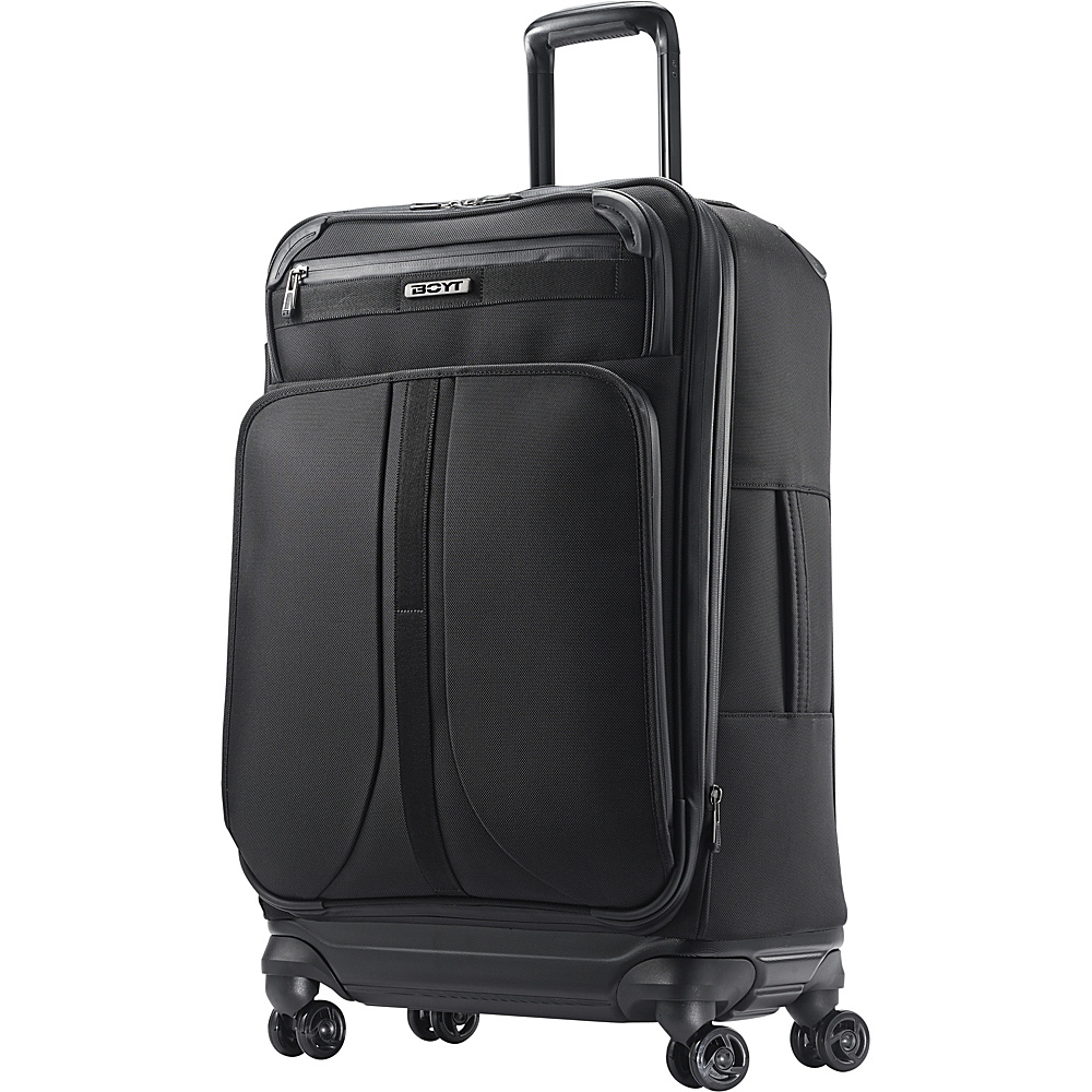 "Boyt Mach 1 Softside Spinner 25"" Deep Black - Boyt Large Rolling Luggage"