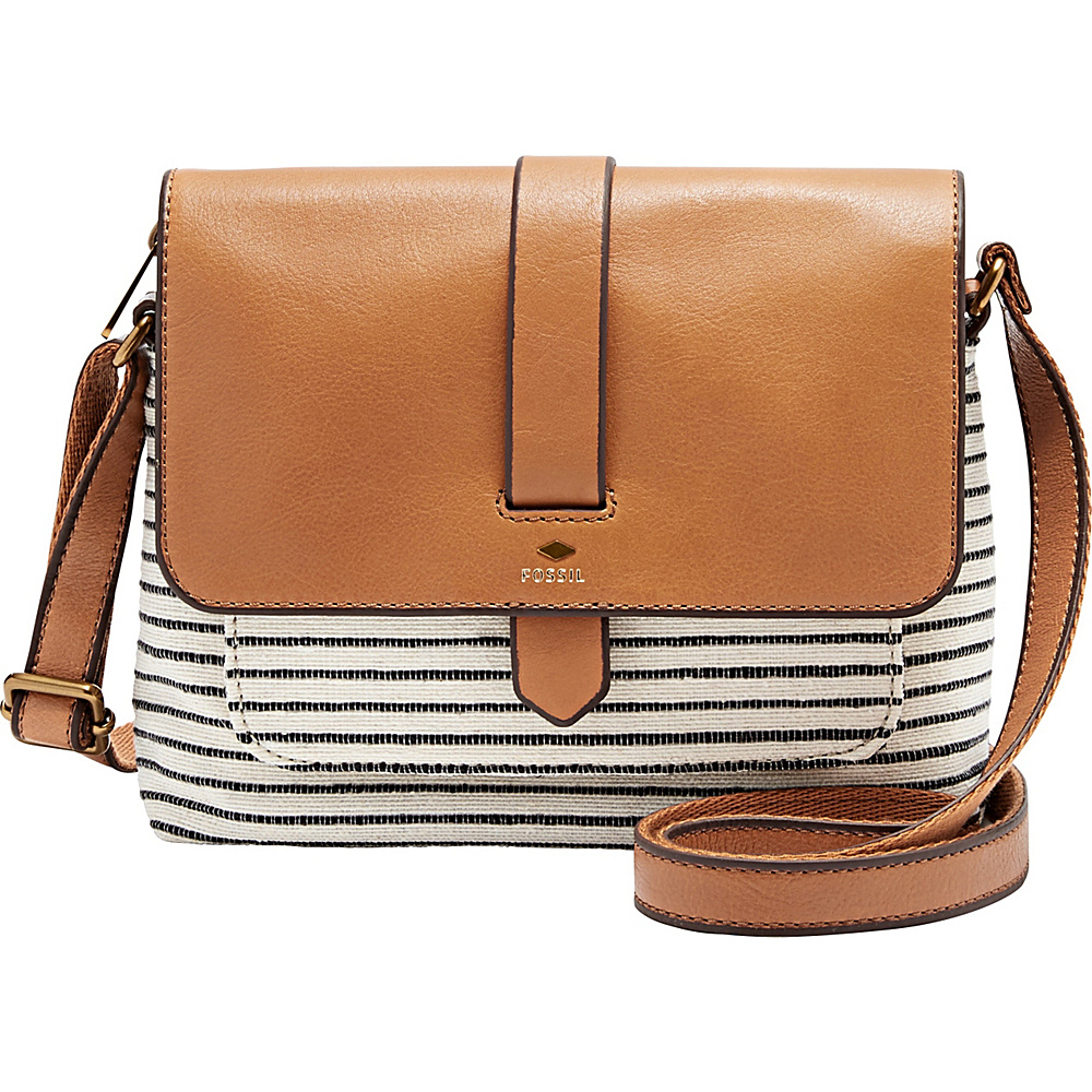 31b194d83b The most competitive prices for Handbags, Bags, Totes, Shoulder Bags,  Travel Bags, Briefcases, Clutches, and more! Fossil Kinley Small Crossbody  White/Black ...