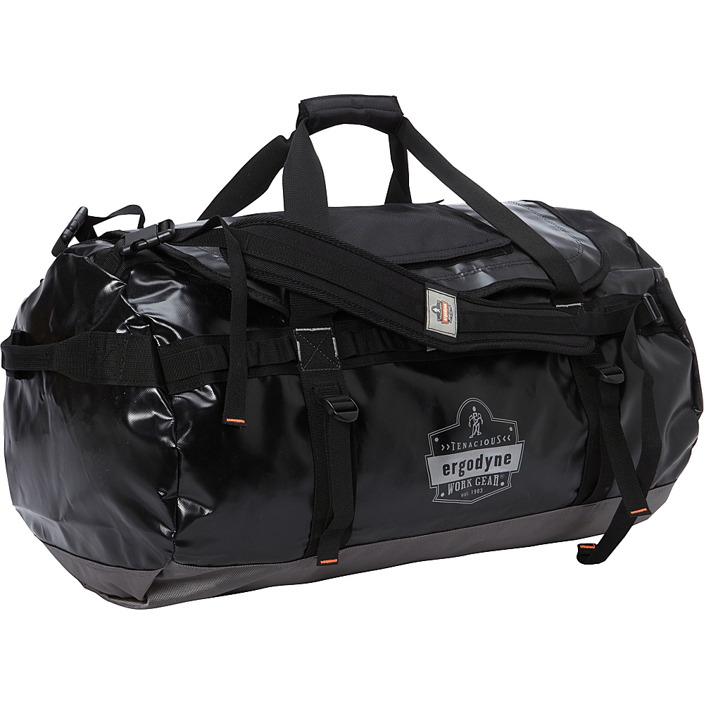 Ergodyne GB5030M Medium Water Resistant Duffel Bag Black Ergodyne Outdoor Duffels