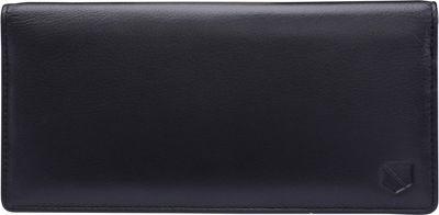 Silent Pocket V2 RFID Secure Check Book Wallet Black - Silent Pocket Travel Wallets