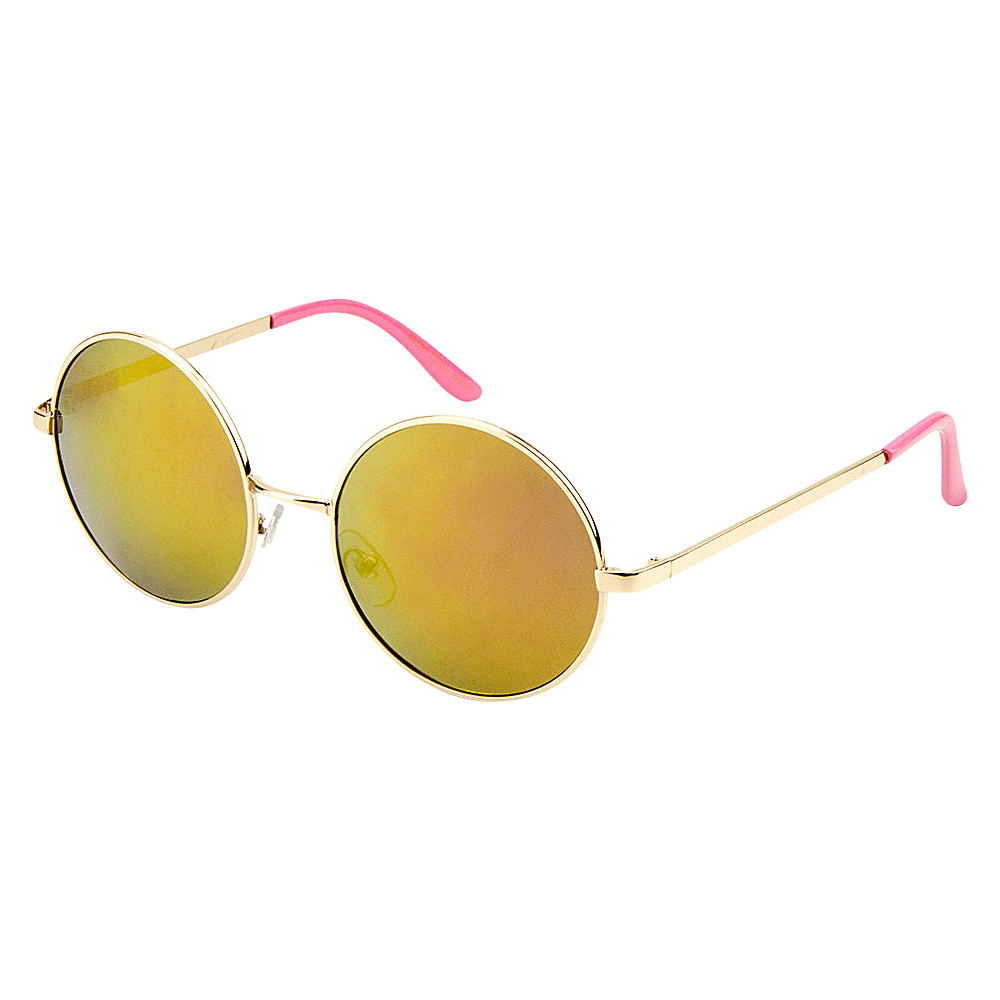 SW Global Eyewear Cena Round Fashion Sunglasses Pink - SW Global Sunglasses - Fashion Accessories, Sunglasses