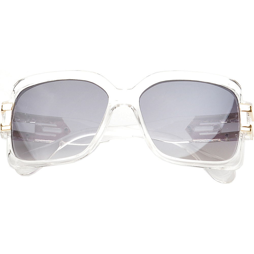 SW Global Eyewear Remington Square Fashion Sunglasses Clear SW Global Sunglasses