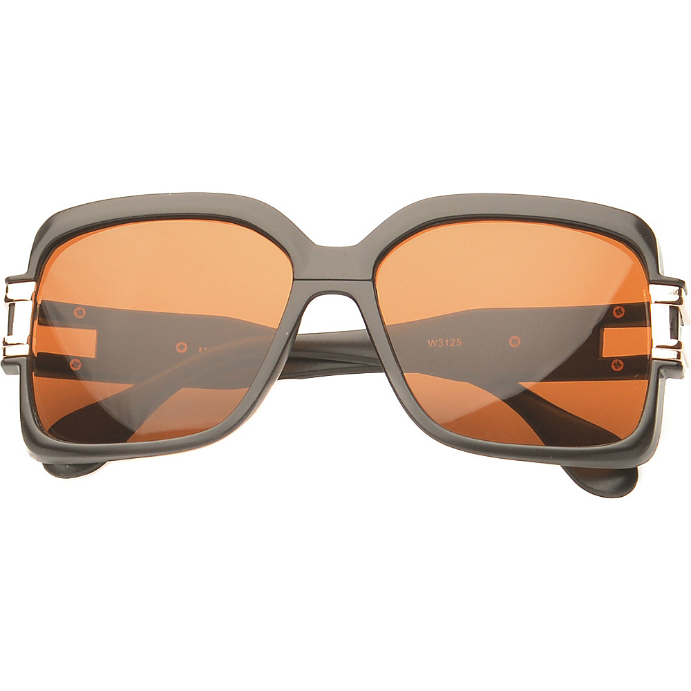 SW Global Eyewear Remington Square Fashion Sunglasses Matte Brown SW Global Sunglasses