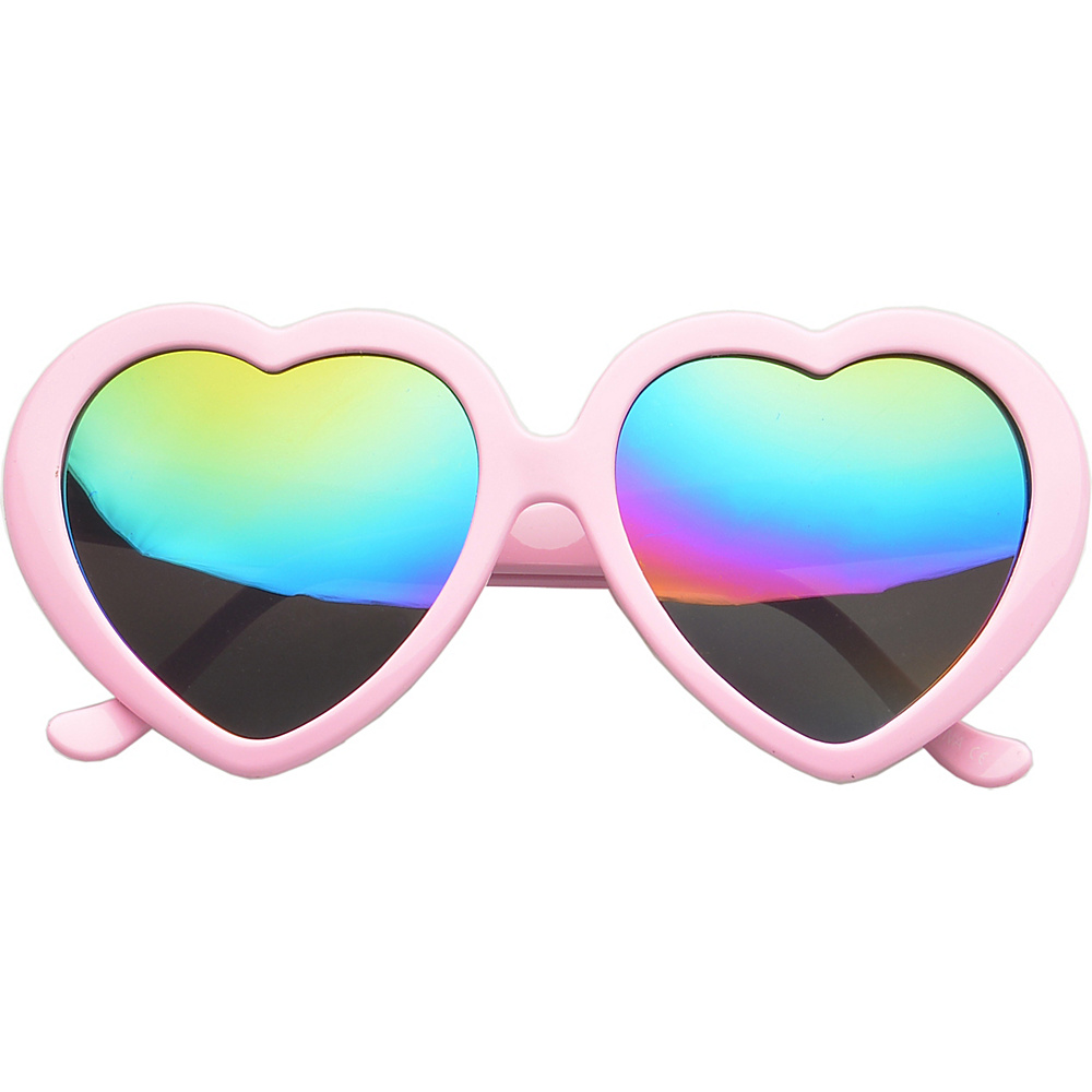 SW Global Eyewear Melville Heart Fashion Sunglasses Pink - SW Global Sunglasses - Fashion Accessories, Sunglasses