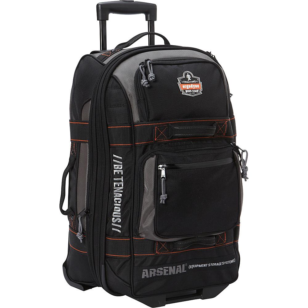 Ergodyne GB5125 Wheeled Luggage Black Ergodyne Softside Checked