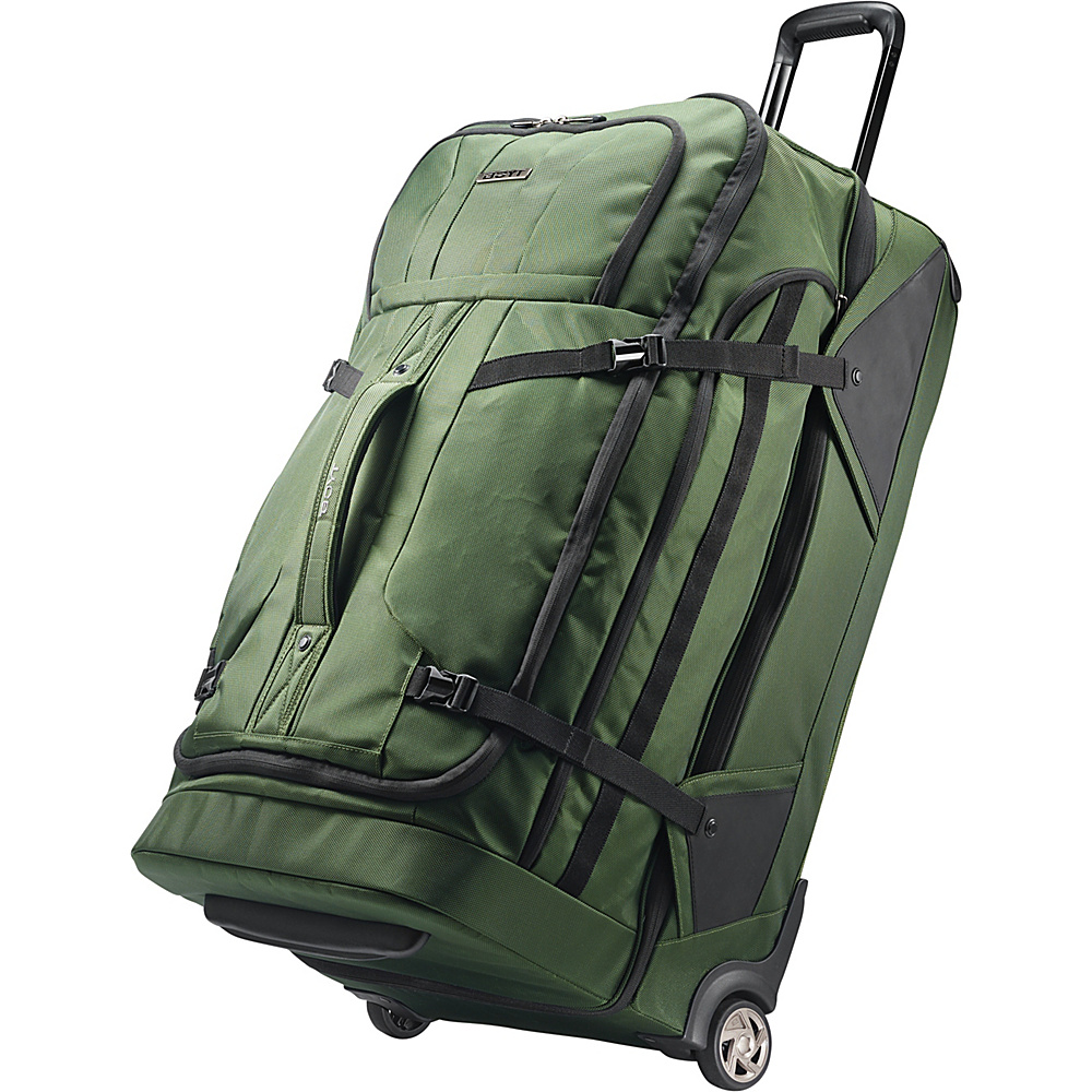 Boyt Edge Softside 30 Drop Bottom Wheeled Duffel Forest Green - Boyt Travel Duffels