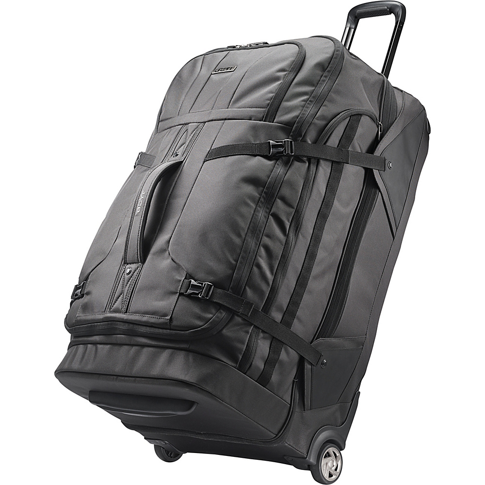 Boyt Edge Softside 30 Drop Bottom Wheeled Duffel Steel Grey - Boyt Travel Duffels