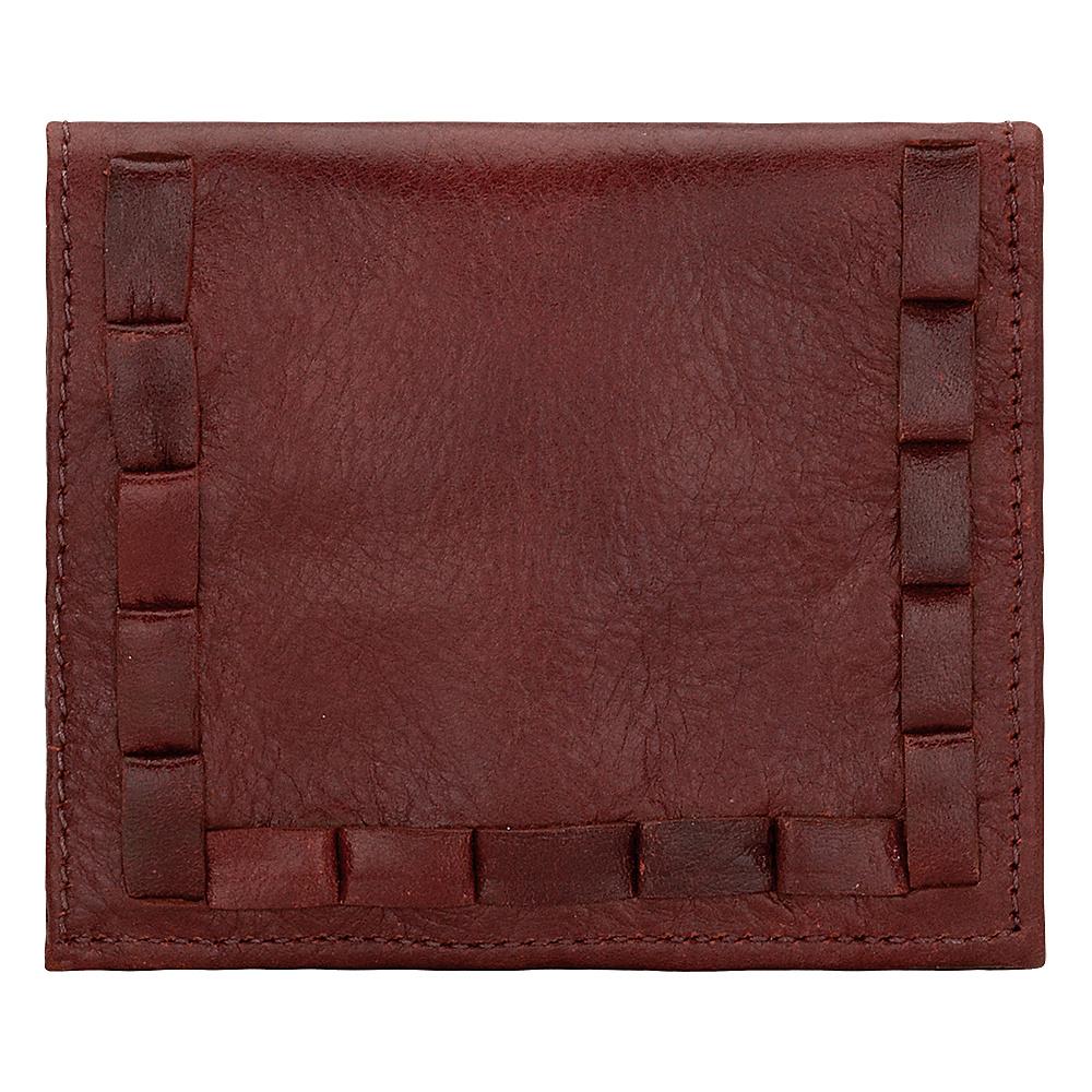 American West Boyfriend Wallet Soft Ladies Bi Fold Wallet Garnet American West Women s Wallets