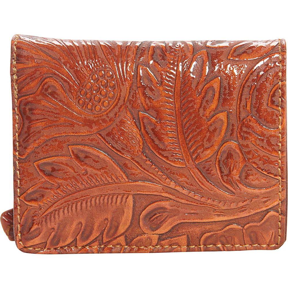 Bandana Amour Folded Snap Wallet Sunset Orange Bandana Women s Wallets