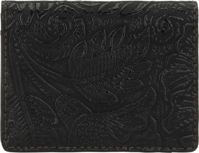 Bandana Amour Folded Snap Wallet Black - Bandana Women's Wallets