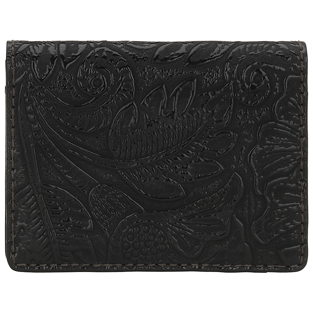 Bandana Amour Folded Snap Wallet Black Bandana Women s Wallets