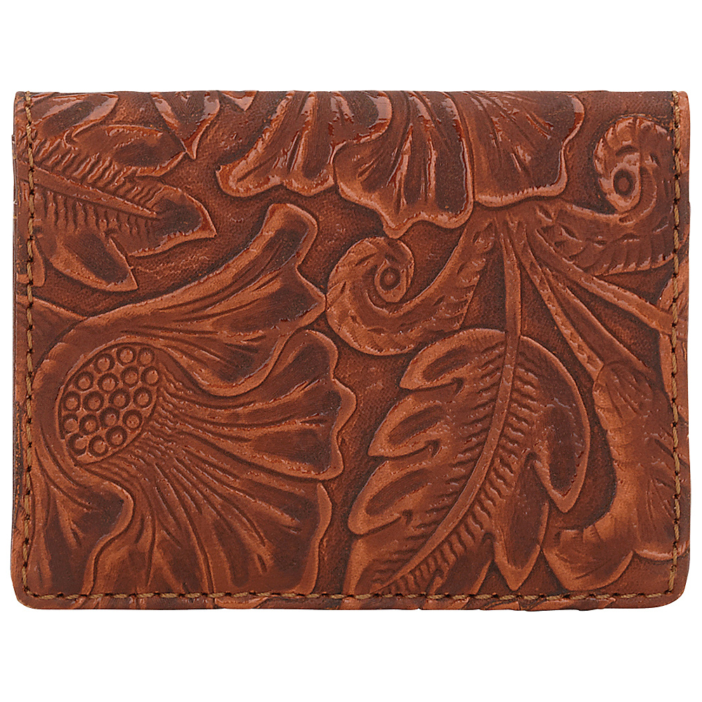 Bandana Amour Folded Snap Wallet Tan Bandana Women s Wallets