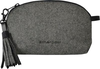 Sherpani Stella Wool & Leather Pouch Slate - Sherpani Women's SLG Other