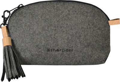 Sherpani Stella Wool & Leather Pouch Chai - Sherpani Women's SLG Other