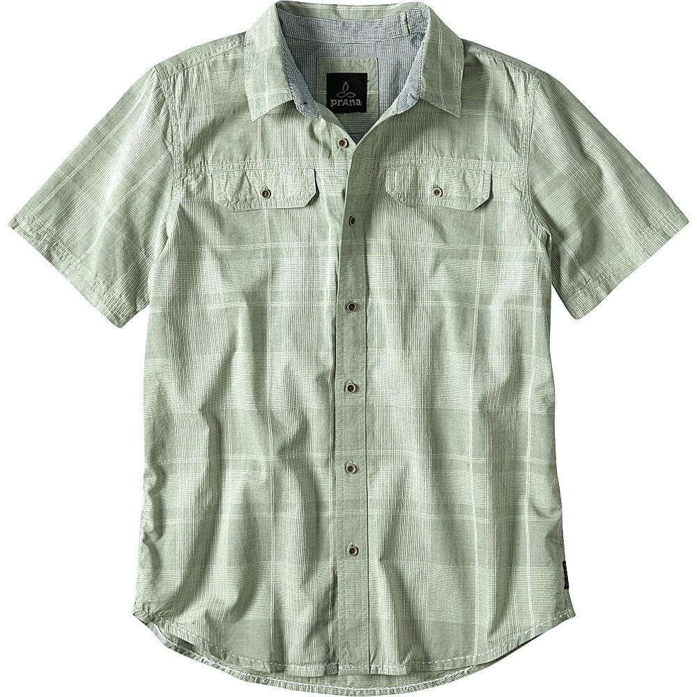 PrAna Marvin Shirt S - Green Tint - PrAna Mens Apparel - Apparel & Footwear, Men's Apparel