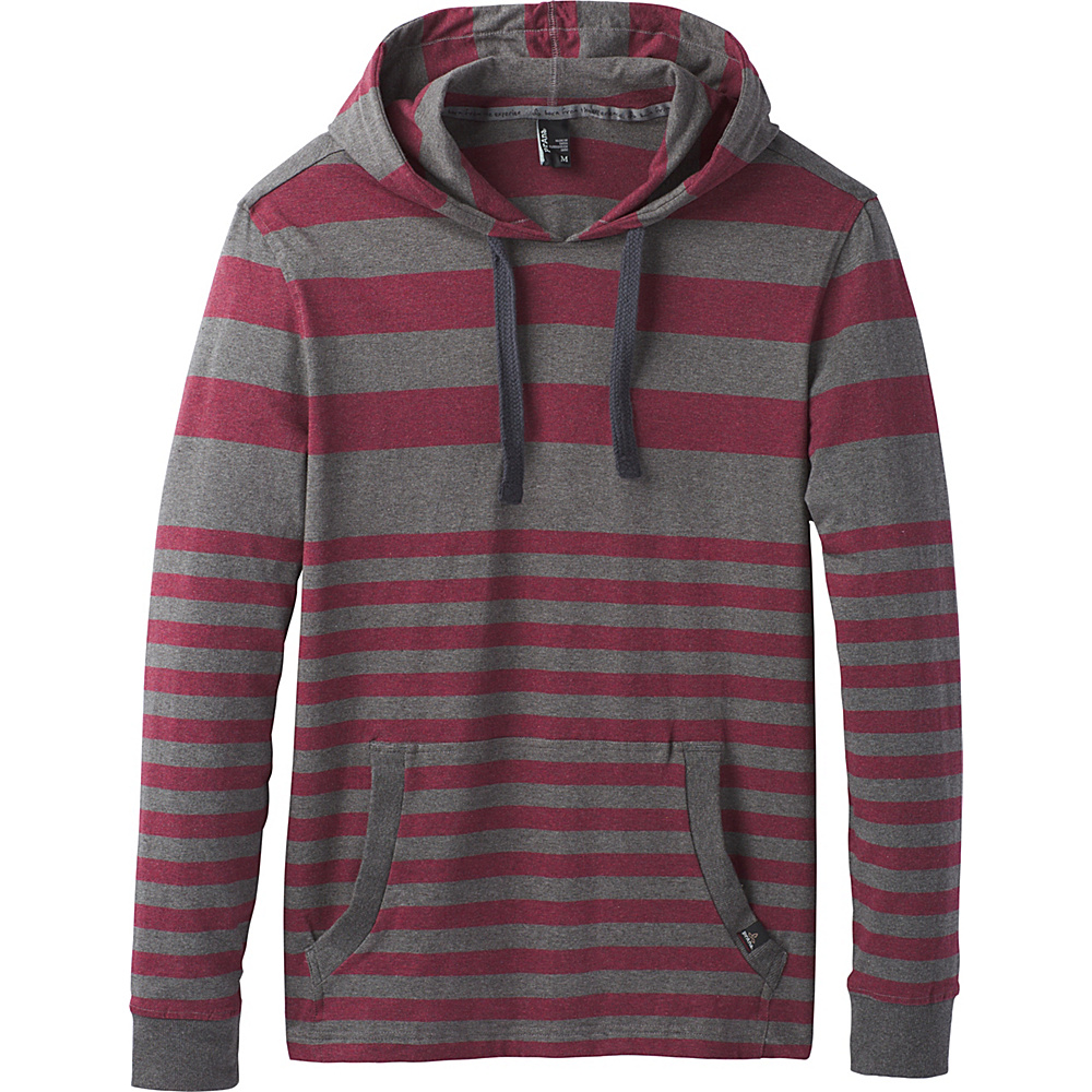 PrAna Setu Hoodie S - Nocturnal Red - PrAna Mens Apparel - Apparel & Footwear, Men's Apparel