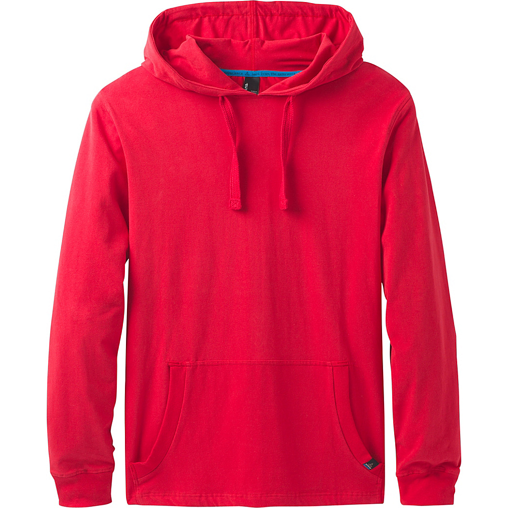 PrAna Setu Hoodie S - Red Ribbon - PrAna Mens Apparel - Apparel & Footwear, Men's Apparel
