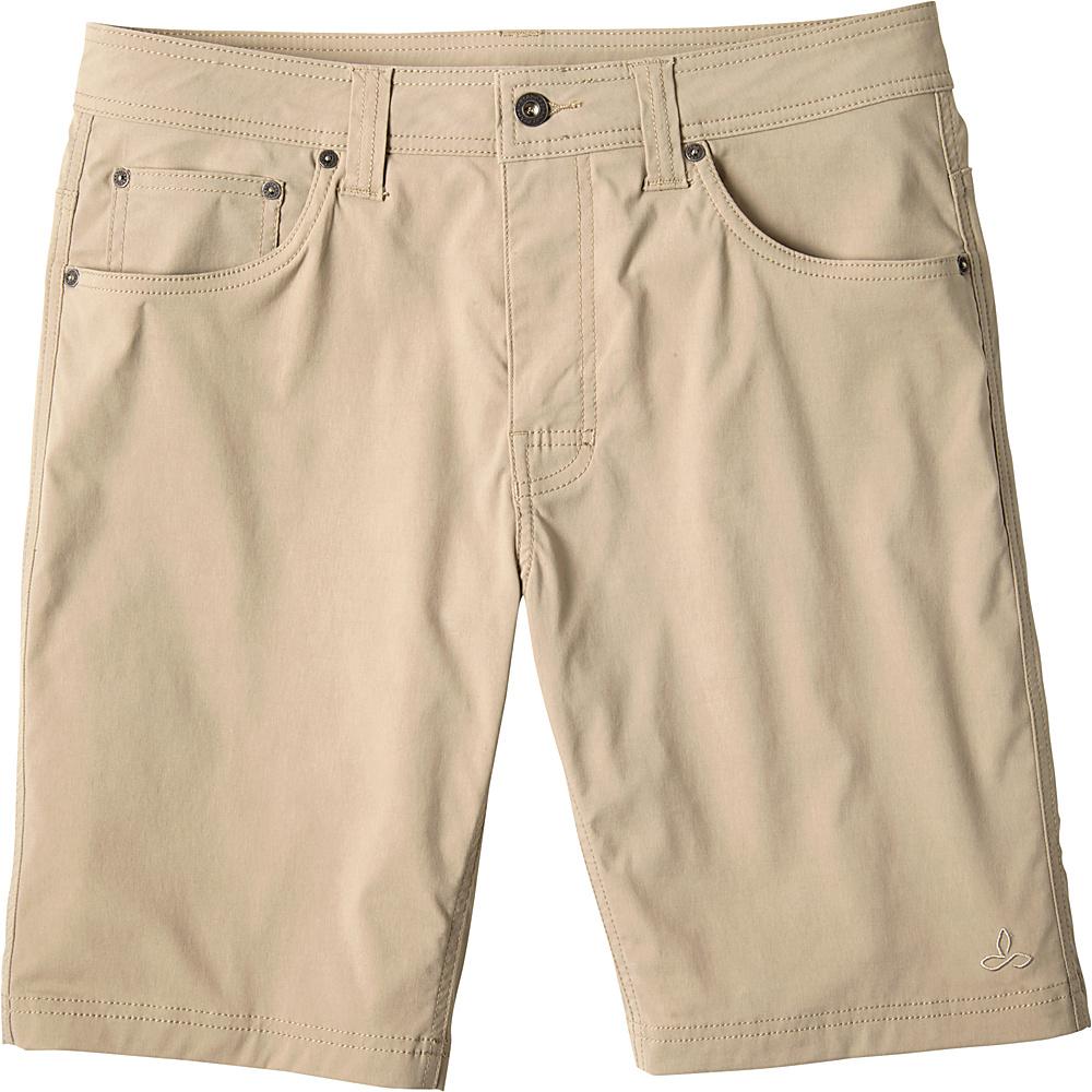 PrAna Brion Shorts 38 - Dark Khaki - PrAna Mens Apparel - Apparel & Footwear, Men's Apparel