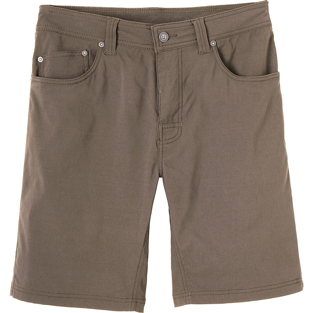 PrAna Brion Shorts 40 - Mud - PrAna Mens Apparel - Apparel & Footwear, Men's Apparel