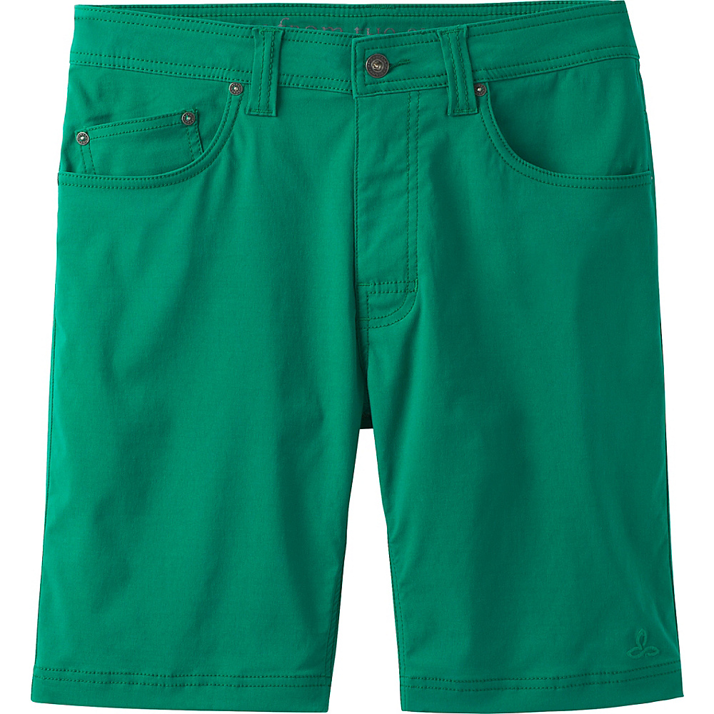 PrAna Brion Shorts 38 - Spruce - PrAna Mens Apparel - Apparel & Footwear, Men's Apparel
