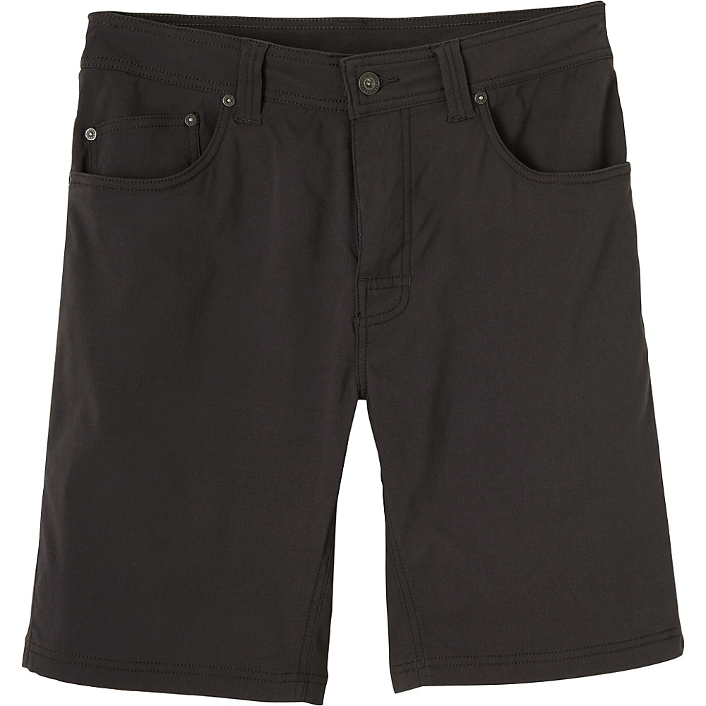 PrAna Brion Shorts 38 - Charcoal - PrAna Mens Apparel - Apparel & Footwear, Men's Apparel