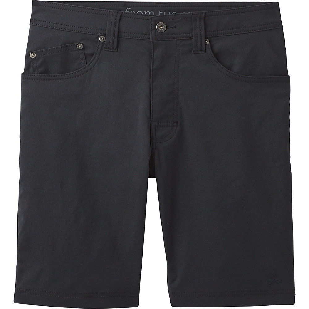 PrAna Brion Shorts 33 - Black - PrAna Mens Apparel - Apparel & Footwear, Men's Apparel