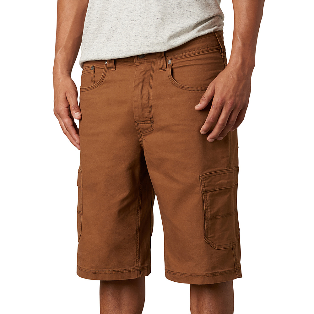 PrAna Murray Relaxed Fit Shorts 34 - Sepia - PrAna Mens Apparel - Apparel & Footwear, Men's Apparel