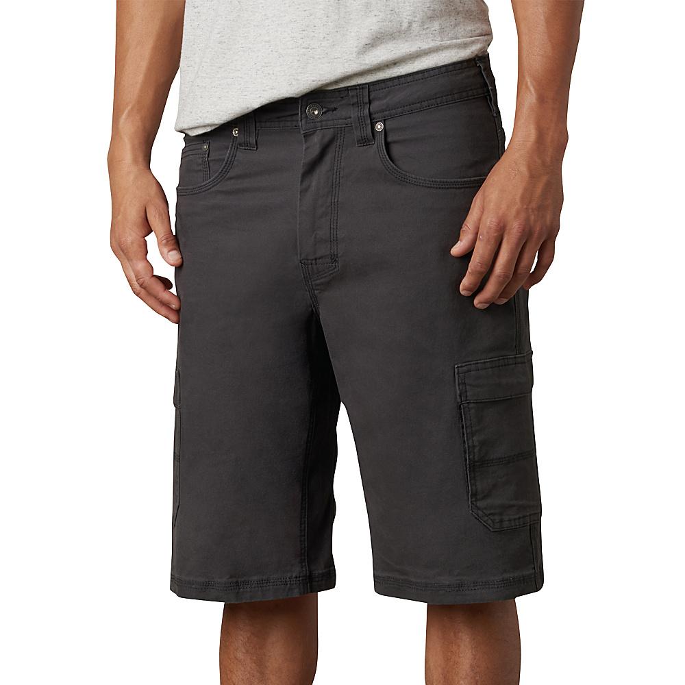 PrAna Murray Relaxed Fit Shorts 28 - Charcoal - PrAna Mens Apparel - Apparel & Footwear, Men's Apparel