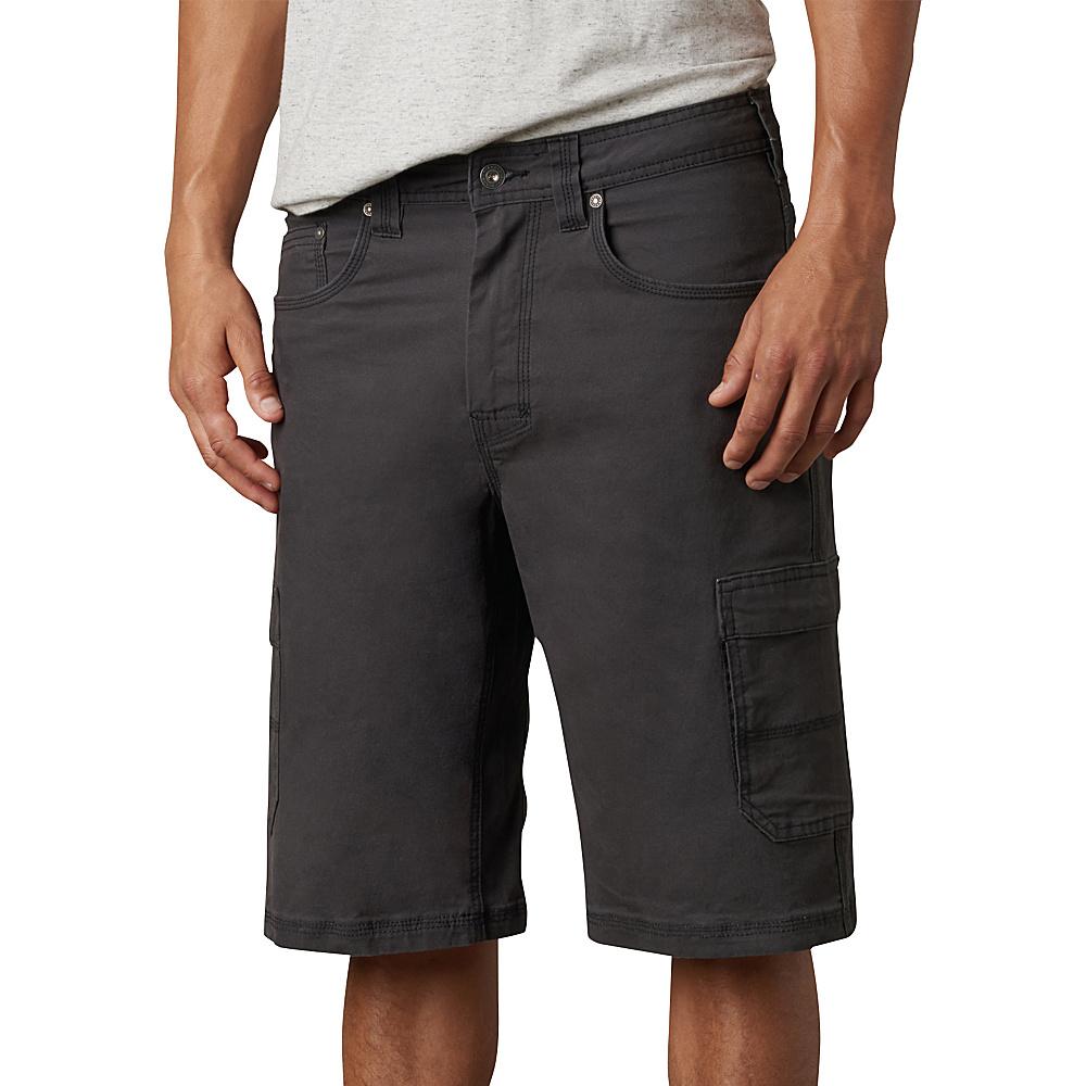 PrAna Murray Relaxed Fit Shorts 34 - Charcoal - PrAna Mens Apparel - Apparel & Footwear, Men's Apparel
