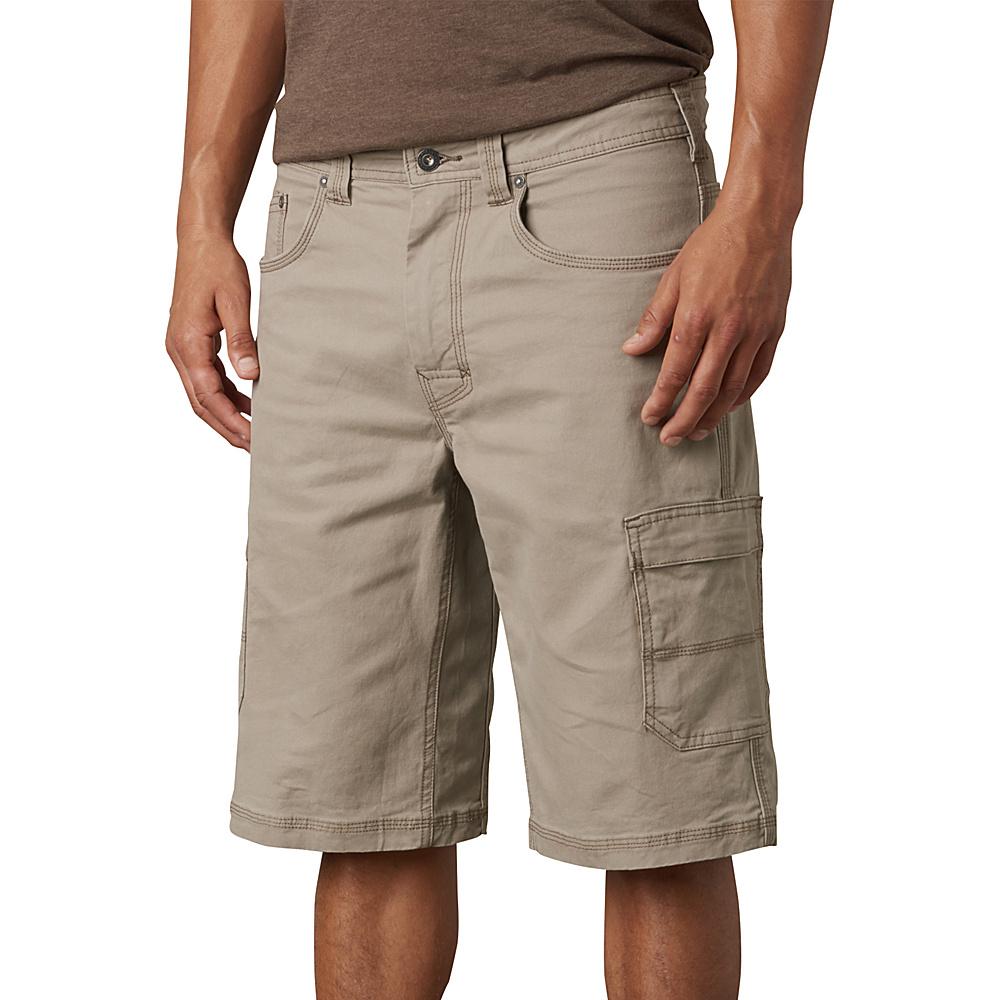 PrAna Murray Relaxed Fit Shorts 31 - Dark Khaki - PrAna Mens Apparel - Apparel & Footwear, Men's Apparel